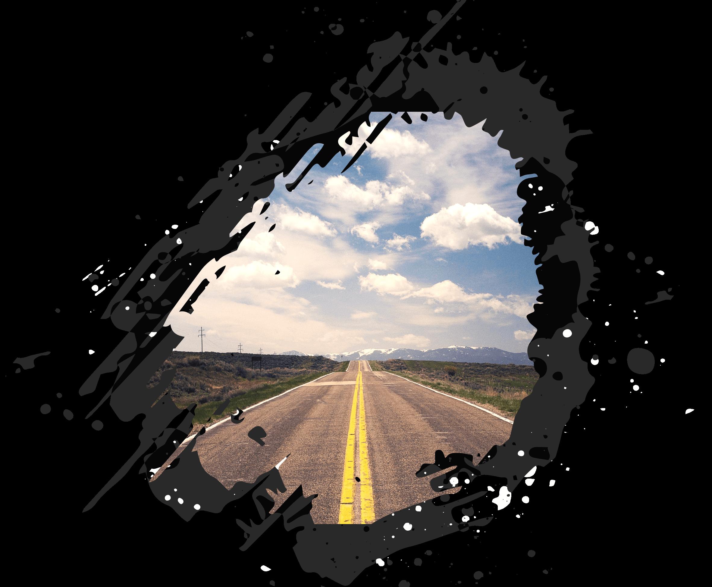 highway straße natur berge