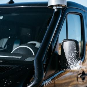 schwarz transporter luftfilter schnorchel