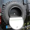 MB Sprinter 906 907 Ersatzradhalter Staufach Leiter schwarz alu