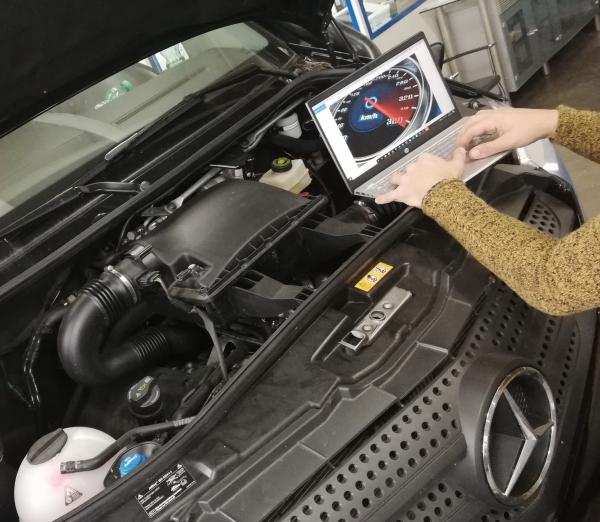 MB Sprinter V-Klasse Vito VW Crafter 906 907 Leistungsteigerung Leistungsoptimierung MOTOROPTIMIERUNG BEI EINEM 4-ZYLINDER MOTOR V6 MOTOR TACHOCODIERUNG