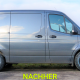MB Sprinter Frontantrieb Umbereifung 225/75R16 BF Goodrich