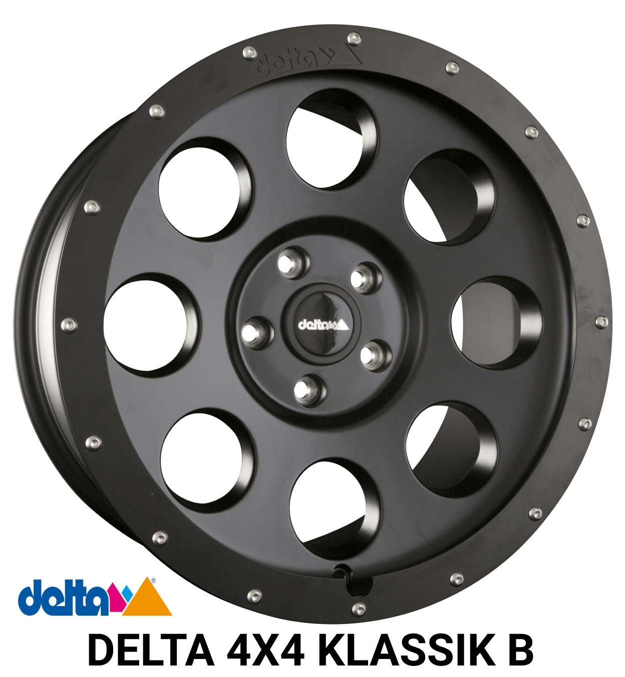Delta 4x4 Klassik B Alufelge MB Sprinter Umbereifung