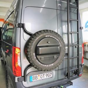 MB Sprinter Ersatzradhalter