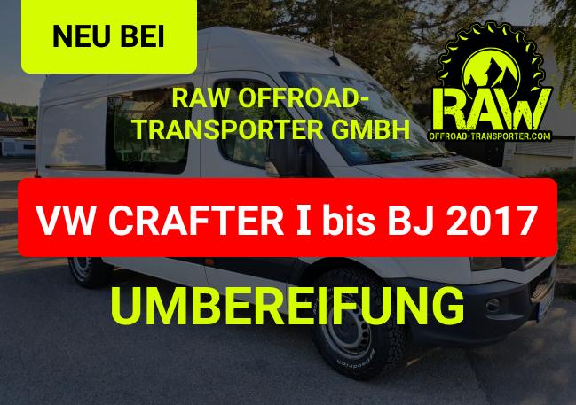VW Crafter Umbereifung und Zubehör